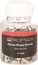 PROMAX BRASS FERRULES 5MM 200/PCS PX-DC14CF504-CP