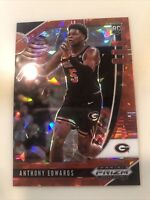 2020-21 PANINI PRIZM RED ICE ANTHONY EDWARDS RC ROOKIE PARALLEL Timberwolves