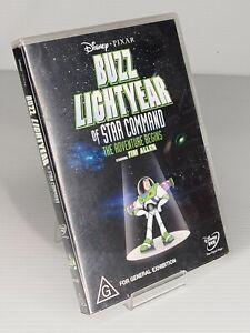 Disney Pixar Buzz Lightyear Of Star Command (DVD, 2001)