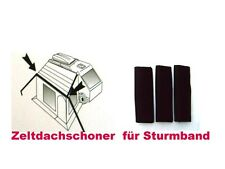 Zeltdachschoner für Spannband Sturmband Vorzelt Markise Packung a 3 Stück