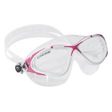Cressi Swim Planet Mask Soft Silicone Swimming Goggles Pink