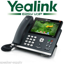 "Yealink SIP-T48G Color 7"" Touch Gigabit IP Phone 16 Line VoIP Office Touchscreen"