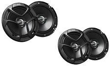 "2 PAIRS JVC CS-J620 6.5"" 2 Way Car Audio Speakers 600 Watts 6-1/2 Inch CSJ620"