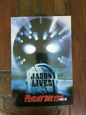 Neca Ultimate Horror Jason Lives Action Figure Friday 13th part VI NEW IN BOX