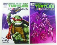 IDW TMNT / GHOSTBUSTERS (2014) #2 NM + Hastings VARIANT VF (8.0) Ships FREE!
