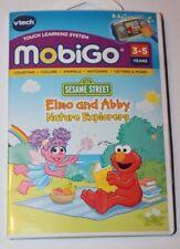 Vtech MobiGo Touch Learning System Sesame Street Elmo & Abby Nature Explorers