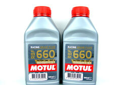 2x 500ml Motul RBF 660 Motorrad Bremsflüssigkeit DOT 4 Racing Brake Fluid