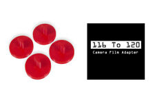 116 to 120 Film spool camera Adapter Set Kodak Canon Nikon