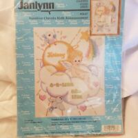 Janlynn Sunshine Cherubs Birth Announcement Cross Stitch Kit Terri Steinmeyer