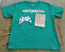 VIDEO GAME HUMOR T-SHIRT SIZE: YOUTH MEDIUM EXCELLENT USED CONDITION