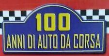 100 ANNI DI AUTO DA CORSA SCEGLI DAL MENU A TENDINA