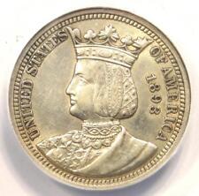 1893 Isabella Quarter 25C - ANACS XF45 Details (EF45) - Rare Commemorative Coin!