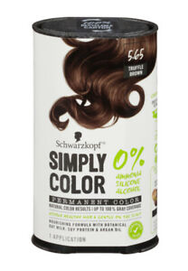 Schwarzkopf Simply Color Permanent Hair Color 5.65 Truffle Brown
