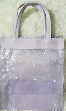 Mary Kay Consultant Gift Clear Bags Purple Lavender lot of 3