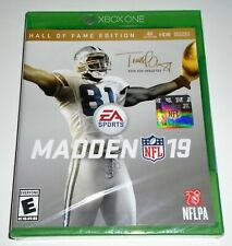 Madden Nfl 19 - Hall of Fame Edition (Xbox One, 2018) Brand New + Free Shipping