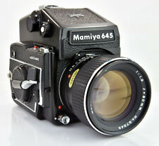 Mamiya M645 1000S with 80mm f1.9 SEKOR C Lens and Metered Prism Medium Format