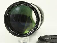 MINOLTA MD TELE ROKKOR 200mm f/4 Manual Focus Lens from Japan [Excellent]
