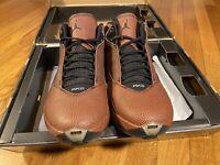 2007 NIKE AIR JORDAN XX2 XXII 22 BASKETBALL LEATHER BROWN BLACK Shoes Sneakers