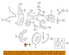 BMW OEM 11-18 X5 Brake-Front-Backing Plate Dust Splash Shield Bolt 34116868785