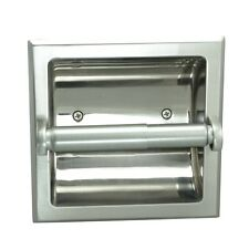 Kain Satin Nickel Recessed Toilet / Tissue Paper Holder #49670