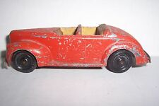 Tootsie Toy Red Convertible 01043