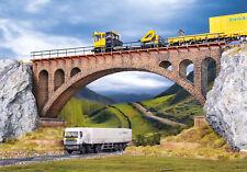 Pont en Pierre une voie -ho-1/87-vollmer 42549