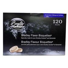 Bradley Technologies Smoker Bisquettes Pacific Blend (120 Pack) - Btpb120