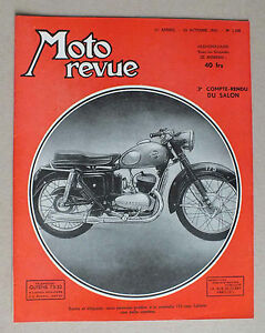 ANCIEN MAGAZINE - MOTO REVUE N° 1158 DU 24 OCTOBRE  1953 *