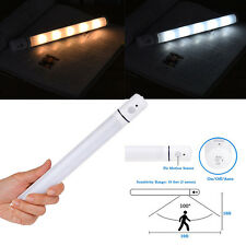 4x Motion Sensor PIR Light Cordless Battery Powered LED Night Light Closet Stair