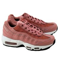 Nike Air Max 95 Womens Running Shoes Rust Pink/Beige-Black 307960-606 Size 7