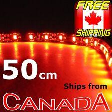 RED LED Tape 50cm, 30 LED Self Adhesive LED Strip 12v