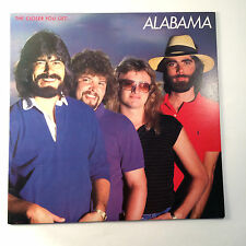 "Alabama The Closer You Get... 1983 RCA 12"" Vinyl AHLI 4663 Record"