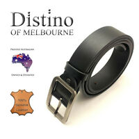 Genuine Leather Belt + Alloy Buckle | Men's leather belts for suits or jeans
