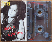DIANA ROSS - WORKIN' OVERTIME (EMI TCEMD1009) 1989 UK CASSETTE TAPE EX COND!