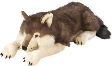 Cuddlekins Wolf 30 Inch Realistic Stuffed Animal Soft Toy Plush High Quality New