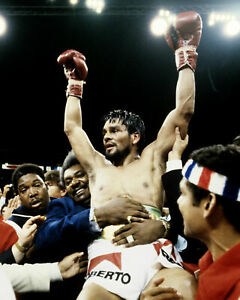 ROBERTO DURAN & DON KING 8X10 PHOTO BOXING PICTURE