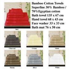 Bamboo Hand Bath Towels & Washcloths