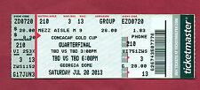 Orig.Ticket   CONCACAF Gold Cup USA 2013   PANAMA-CUBA + MEXICO-TRINIDAD  1/4 F.