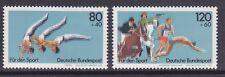 Germany B609-10 MNH 1983 Sports Championships Gymnastics Pentathlon Set