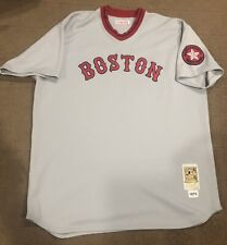 Authentic Mitchell & Ness MLB Jersey Boston Red Sox Carlton Fisk throwback 3XL