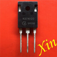 5PCS  K07N120 Fast IGBT in NPT-technology TO-247