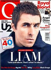 Q The Music Magazine Summer 2017 Liam Gallagher-U2-Royal Blood-Russell Brand...