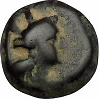 Arados in Phoenicia 300BC Ancient Greek Coin Ship Galley Tyche Fortuna i48433