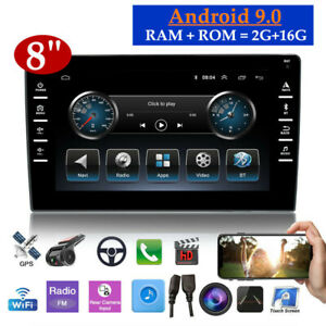 """8"""" 2Din Android 9.0 Carplay Car MP5 Player BT 4.4 GPS Wifi Quad Core 2G+16G"""