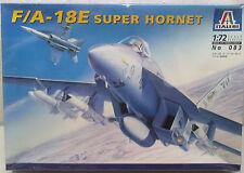 Italeri 083 F/A-18E Super Hornet 1:72 Neu und versiegelt