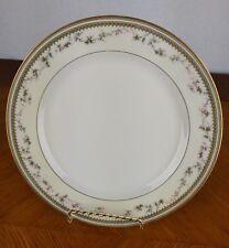 VTG Haviland Limoges France Large Dinner Plate Berries Floral Yale Gold Glass