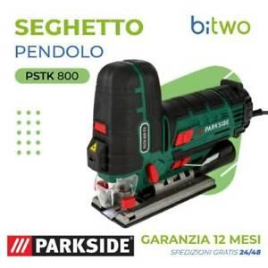 Parkside PSTK 800 C3 seghetto alternativo a pendolo potente a corrente