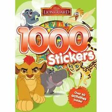 Disney Lion Guard & Kion 1000 Stickers and 60 Activities Book 64 Pages
