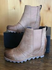 Sorel LEA WEDGE women 8 Waterproof ELK CURRY Original Style  RARE  ANKLE