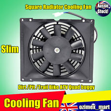 12V Radiator Thermo Electric Cooling Fan 200/250/300 cc Quad Dirt Bike ATV Buggy